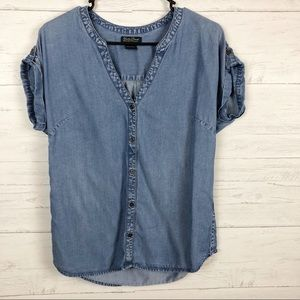 Lucky Brand | Chambray Top